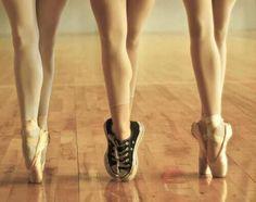 ballet shoes...sort of