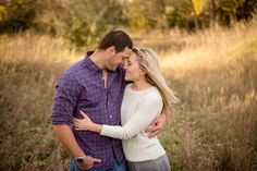 Fall engagment photography - Emily Davidson Photography