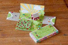 Explosionbox, Stampin, Geburtstag, Glückwünsche, Haus, garten, home sweet home, garden, Geschenk https://www.facebook.com/Colorspell