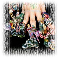 Competition nail art fake nail arts pinterest dream nails fantasy nail designs fantasy nails psychedelic 60s prinsesfo Images