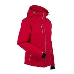 Nils Skiwear Womens Jacket Andrea Red