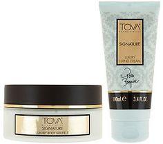 TOVA Signature Body Souffle & Hand Cream Duo
