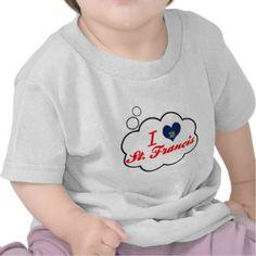 I Liebe St Francis, Maine T-shirt
