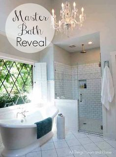 Master Bath Reveal