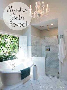 Master Bath Reveal w