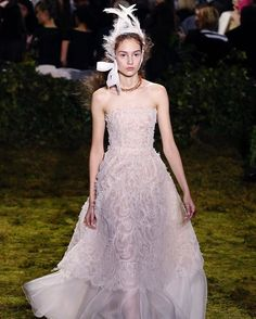 Fresh off the @dior runway in Paris.  (Did you know that this was the first time a Dior collection was designed by a woman?) : @gettyimages  via TEEN VOGUE MAGAZINE OFFICIAL INSTAGRAM - Celebrity  Fashion  Haute Couture  Advertising  Culture  Beauty  Editorial Photography  Magazine Covers  Supermodels  Runway Models