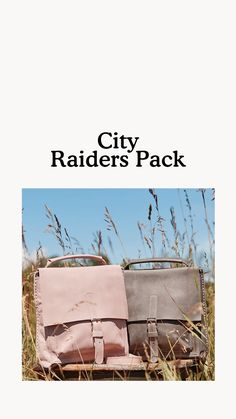Inspired by a Roots favourite, our City Raiders Pack is a mini update of our iconic Raiders Pack that's perfect for your everyday adventures. Designed and handcrafted in Canada, this style is unlined and features a front flap with a magnetic buckle strap closure. A versatile bag, it can be styled three ways: handheld, crossbody or as a backpack. Third Way, Raiders, Packing, City, Leather, Bag Packaging, City Drawing, Cities