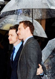 James McAvoy and Michael Fassbender, X-Men: Days of Future Past premiere