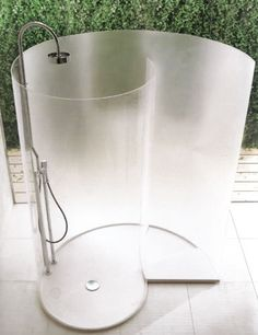 Ordinaire Agape Chiocciola, Contemporary Standalone Shower Enclosure For The Bathroom.