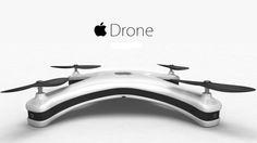 Примерно так может выглядеть дрон Apple