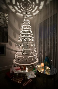 Contemporary Christmas Tree in memory of modern christmas trees designer and inventor lawrence