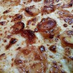 Kretanische Kartoffeln von Bonnibine | Chefkoch Pepperoni, Lasagna, Pizza, Bread, Cheese, Ethnic Recipes, Food, Vegetarian Recipes, Greek Potatoes