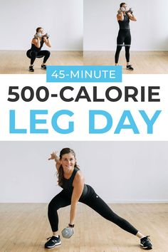 500-Calorie Leg Workout
