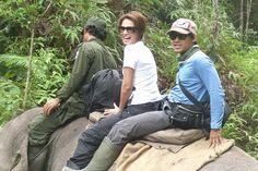 Davina & Nugie sebagai Duta Kunjungan Taman Nasional Tesso Nilo, Pelalawan, Riau