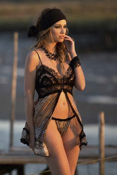 #Marjolaine Spring Summer collection 2016 #lingerie #glamour #pizzo #seta #fashion #underwear #EldaElegance #lace #moda