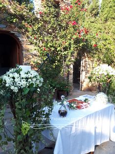 Wedding Events, Arch, Candles, Floral, Flowers, Inspiration, Biblical Inspiration, Longbow, Candy