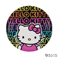 1f8d133a5a05 Hello Kitty™ Tween Dinner Plates - Discontinued