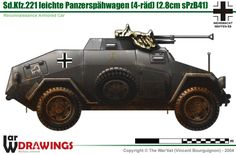 Sd.Kfz.221 mit 28m sPzB41