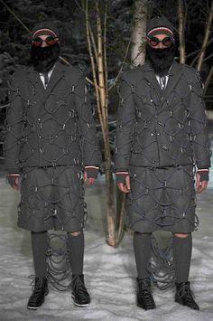 MONCLER GAMME BLEU, Fashion shows • Milano Moda Uomo F/W 2017/2018