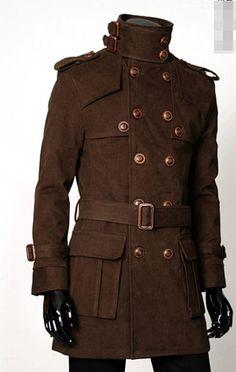 Beautiful steampunk inspired jacket.
