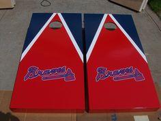 Atlanta Braves Cornhole Boards by mkhew2 on Etsy, $200.00