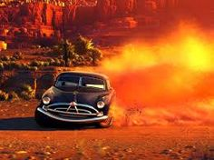 Photo gallery from the Disney and Pixar movie Cars See pictures of Cars characters. Disney Pixar Cars, Lightning Mcqueen, Flash Mcqueen, Hudson Car, Hudson Hornet, Cars 1, Pixar Movies, Movie Cars, Disney Movies