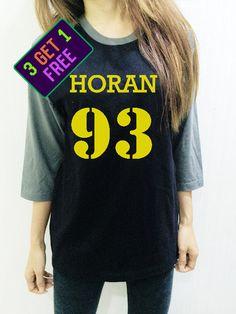 One Direction Clothing Shirt Niall Horan 93 Tee Yellow Baseball Men Women Shirt Unisex Funny Tshirt Raglan 3/4 Long Sleeve by NaturalTeeM on Etsy https://www.etsy.com/listing/246888540/one-direction-clothing-shirt-niall-horan