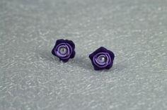 Perleťové fimo fialky