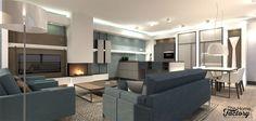Ontwerp & visualisatie appartement nieuwbouw Alphen a/d Rijn
