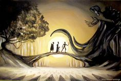 The Tale of the Three Brothers by WormholePaintings.deviantart.com on @DeviantArt