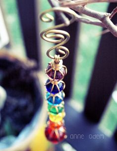 rain chains how to make | Colorful Rain Chain ☀CQ #crafts | Things I Want to Try to Make