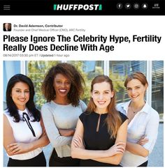 Please Ignore The Celebrity Hype, Fertility Really Does Decline With Age - ARC Fertility
