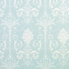 papel pintado josette azul verdoso