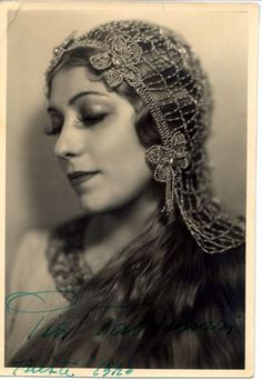 Pia Tassinari (1903-1995) was an Italian soprano/ mezzo-soprano, particularly associated with the Italian and French repertories. She  debuted in 1929, as Mimi, in Casale Monferrato. She sang widely in Italy before making her debut at La Scala in Milan in 1932. She also appeared in Russia and South America, and made her debut at the MET in 1947, as Tosca. She sang a wide range of roles. In the 1950s, as her voice darkened, she tackled successfully mezzo-soprano roles.