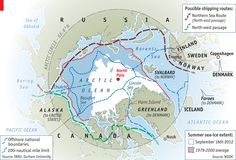 Outsiders in the Arctic: The roar of ice cracking and Asia in the Arctic | The Economist