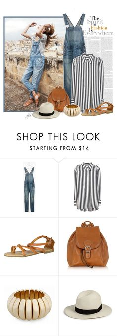 """""""Last Summer..."""" by dgia ❤ liked on Polyvore featuring Madewell, Alice + Olivia, Fashion Focus, Robe di Firenze, New Directions and rag & bone"""