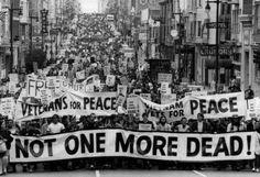 Anti-War Demonstration San Francisco 1969 Archival Photo Poster