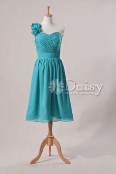 Hey, I found this really awesome Etsy listing at https://www.etsy.com/listing/153059006/teal-short-bridesmaid-dressturquoise