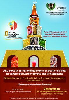 II Muestra Gastronómica del Caribe #Unicartagena #AdministraciónTurísticayHotelera