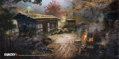FarCry4 Concept Art - Mission site by Donglu Yu | Illustration | 2D | CGSociety