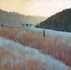 Liz Haywood-Sullivan, PSA - Fine Art Pastels and Pastel Instruction Pastel Landscape, Abstract Landscape, Landscape Paintings, Abstract Art, Pastel Drawing, Pastel Art, Painting Snow, Paintings I Love, Pastel Paintings