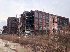The abandoned Remington Arms Factory Bridgeport CT. [3264x2448] [OC]