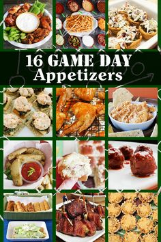 The Big Game Day is coming; What will you be making? If you're still undecided, I have a roundup of 16 awesome Game Day appetizers from some of my favorite bloggers for you to make for your friends and family. Check them out and let me know what you'll be serving!