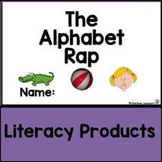 The Alphabet Rap This is a rap that works well with struggling students. It really helps them to identify the letter sounds. Kindergarten Reading Activities, Kindergarten Lessons, Reading Resources, Learning Activities, Abc Sounds, Letter Sounds, Reading Recovery, Ell Students, Common Core Reading