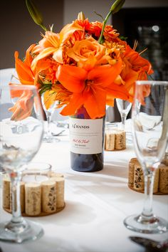 @Ashley Walters Marie ... You can put corks around the votives!!