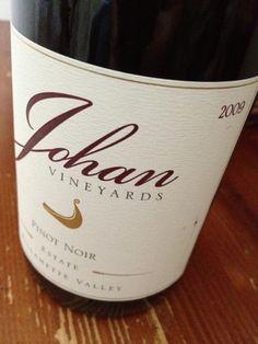 Best Case Scenario: Johan Vineyards 2009 Estate Pinot Noir
