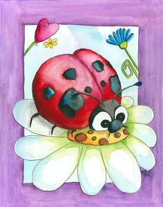 Lizzy Ladybug by bealoo, via Flickr