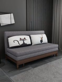 Ideas for organizing storage options at home, space-saving tips.Luxury sofa bed with storage video Furniture that takes up less space How to organize your Home Room Design, Furniture Design Living Room, Sofa Bed With Storage, Bed Design, Bed Furniture Design, Room Decor, Diy Sofa Bed, Sofa Bed Design, Bedroom Bed Design
