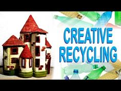 ❣Plastic Bottles Recycling Craft Idea - DIY Fairy House❣ - YouTube