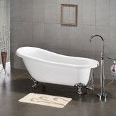 "Found it at Wayfair - 61.75"" x 31"" Claw Foot Slipper Soaking Bathtub"